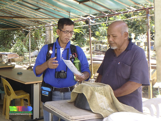 R.U.M. volunteers sharing with villagers