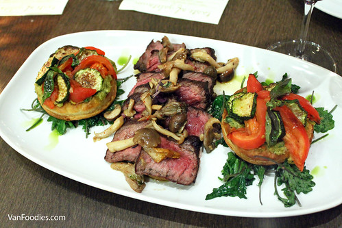 Seared Bavette Steak