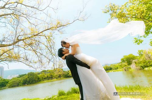 [高雄婚紗推薦]Kiss九九為我和歐爸拍出唯美又韓風的婚紗照 (12)