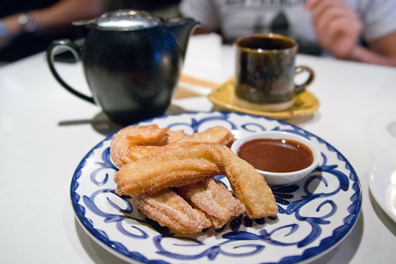 Churros at Segovia, Winnipeg, Manitoba | packmeto.com