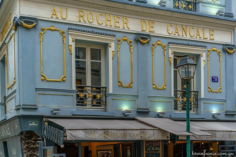 Au Rocher de Cancale - Rue Montorgueil