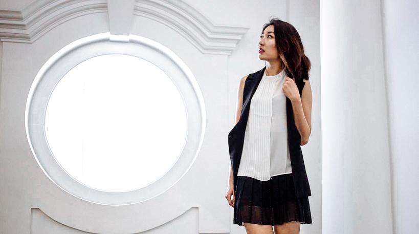 Toki Choi Monochrome OL look-14