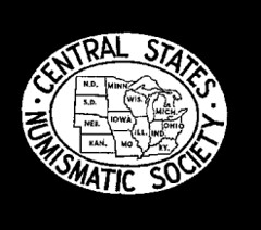 Central States Numismatic Society logo