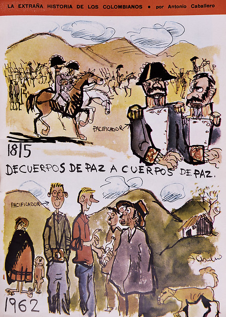 Caricatura de Caballero 1962