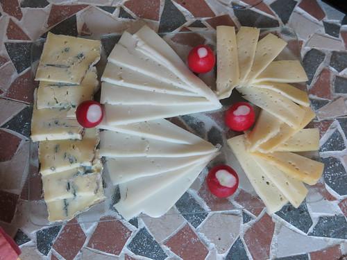Fromages (Käse bei französischem Menue)