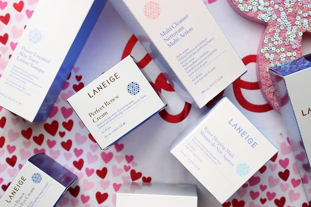 LANEIGE Perfect Renew Skincare Routine #LovingLANEIGE