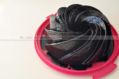 Bolo negro de chocolate