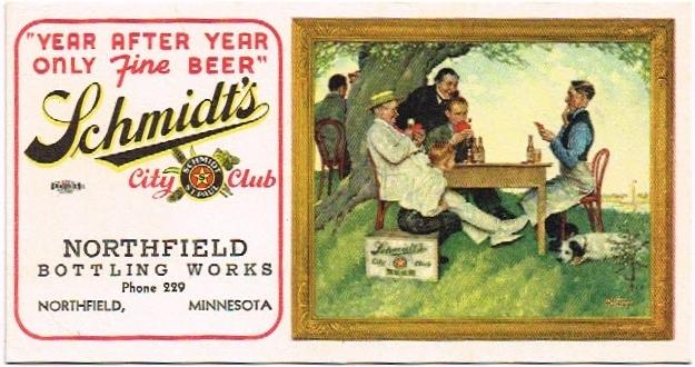 Schmidts-City-Club-Beer--Blotters-Jacob-Schmidt-Brewing-Company