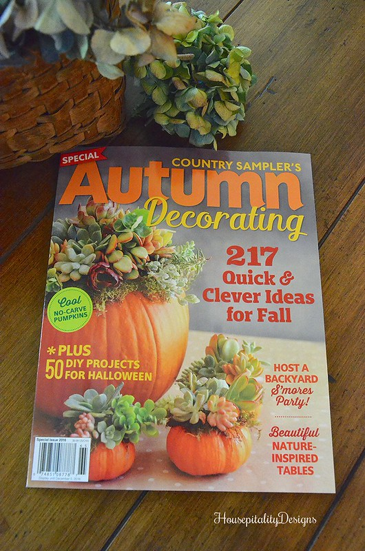 Country Sampler's Autumn Decorating Issue 2016/Housepitality Designs