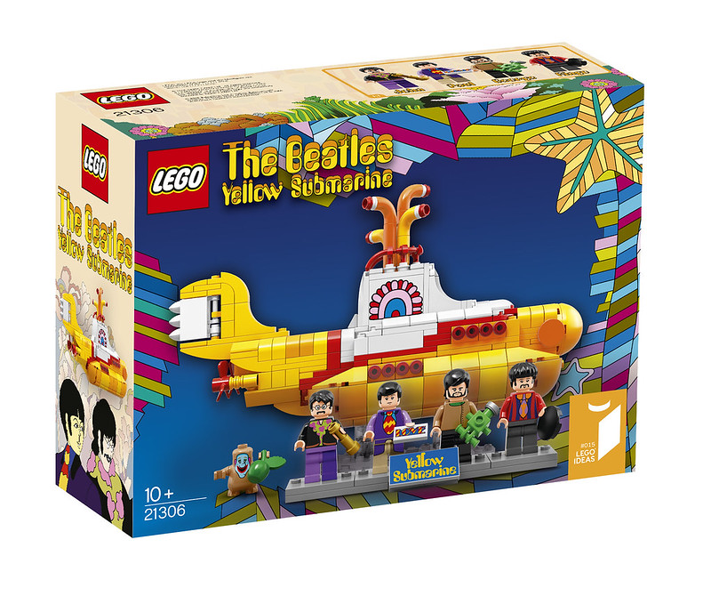 LEGO Ideas 21306 - The Beatles Yellow Submarine