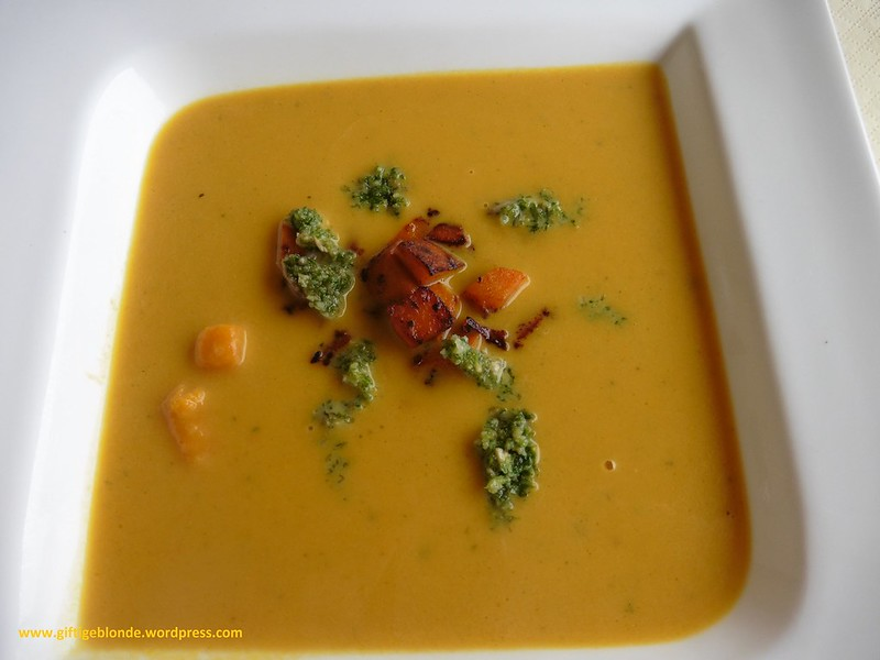 Kürbis Karotten Suppe
