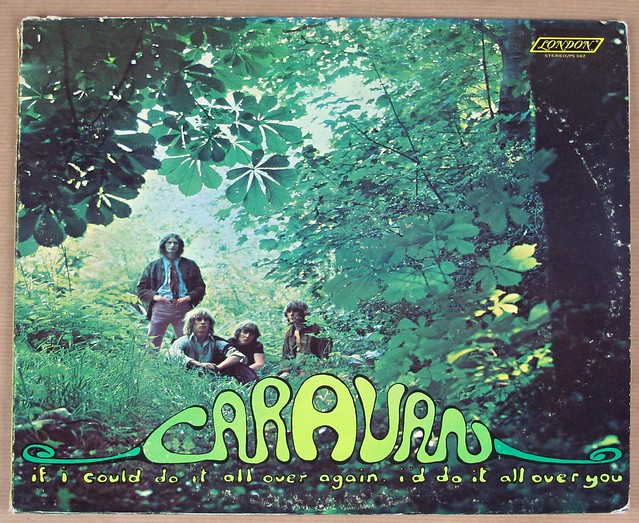"CARAVAN - If I could do it all over again, I'll do it all over you ORIGINAL LONDON 12"" LP VINYL"