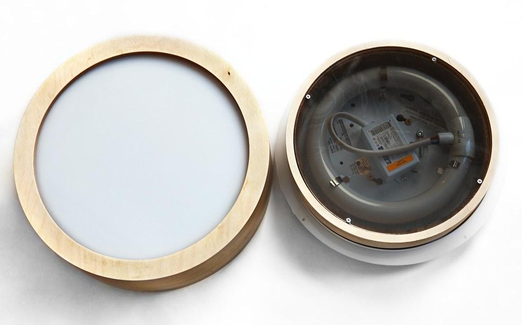 Inside Turn Table Lamp