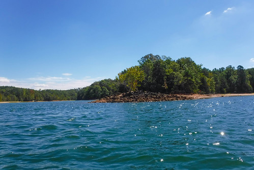 Paddling to Ghost Island in Lake Hartwell-85