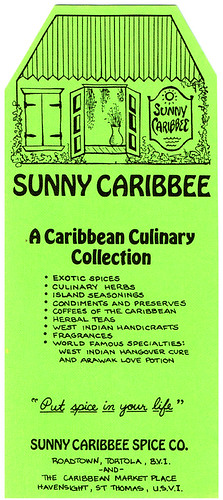 A Sunny Caribbee brochure I saved from 1986 | by MyLastBite