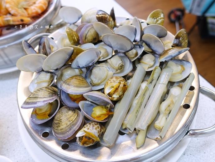 13雙月牌沙茶爐 双月牌沙茶爐 海鮮疊疊樂蒸籠宴  新莊美食 台南熱門美食