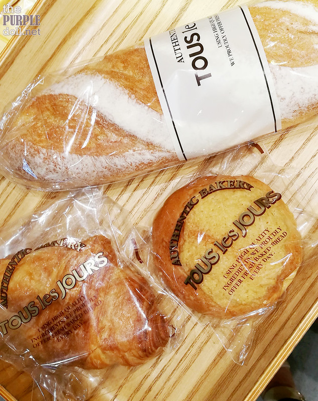 Breads from Tous les Jours