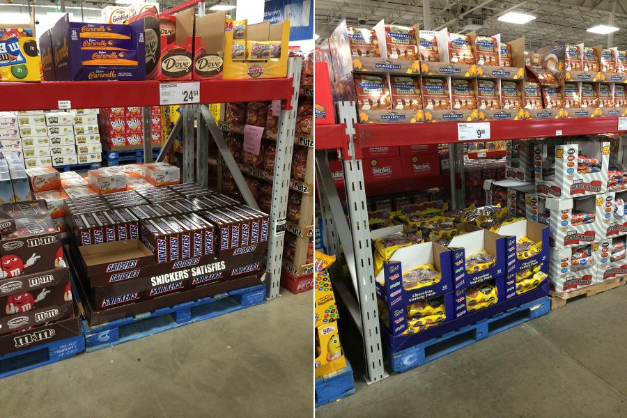 Snickers, Chocolate candy bars, Mars, #Chocolate4TheWin, #shop, Football Chocolate Cream Puffs, dessert, sams club