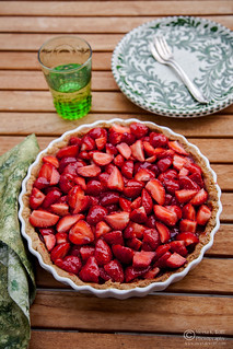 French Strawberry Creme Patiserie Tart (0008) | by Meeta Wolff @ What's For Lunch, Honey?