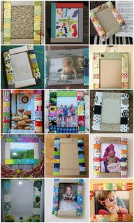 Week 21 Zakka Sew Along, Sweet Memories Frame | by LRstitched