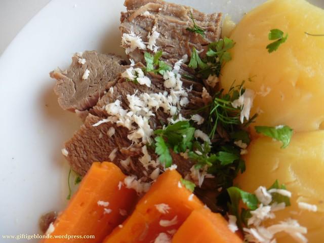 Krenfleisch mit Bio Rindfleisch