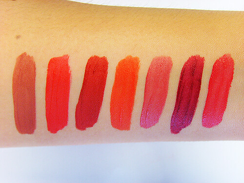 Guerlain Rouge G L'Extrait Swatches | by Escentual.com