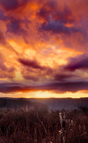 Flamming Sky | by edwinemmerick