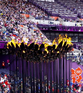 """Olympic Flame"" 
