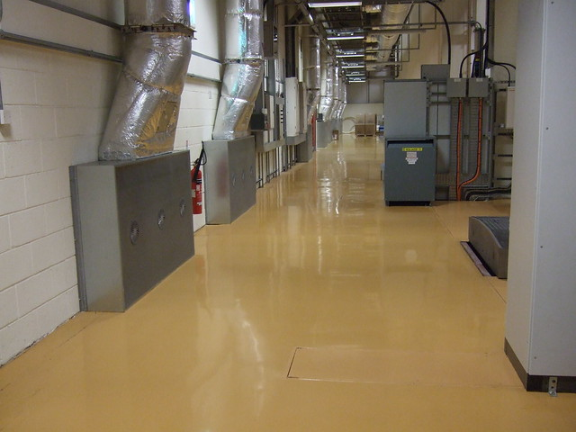 Resin Flooring - FeRFA Type 7 - Heavy Duty Flowable Flooring