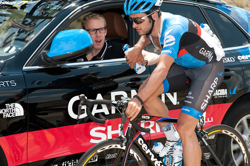 Nathan Haas, Charly Wegelius - USA Pro Challenge, stage 2 | by Team Garmin-Sharp