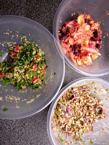 Weekend Cook - Salads for the Week