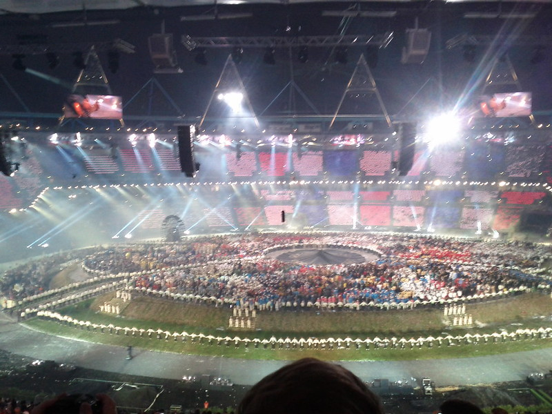 #london2012 #openingceremony rocking