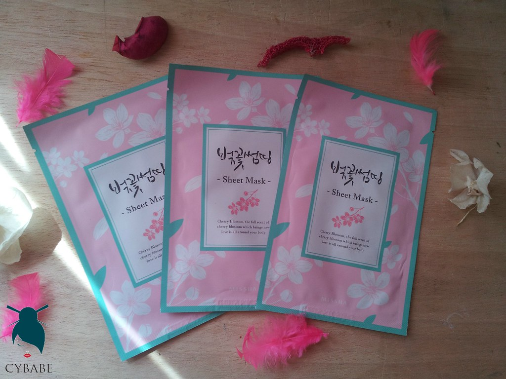 Missha Cherry Blossom Sheet Mask