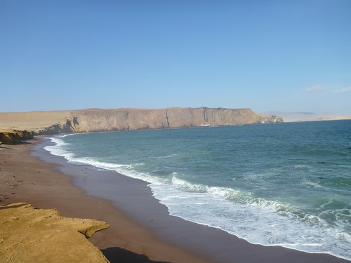 Coastline at the Paracas reserve