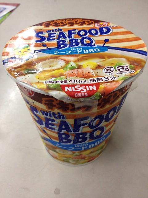 NISSIN Chicken Chinese noodles BBQ taste