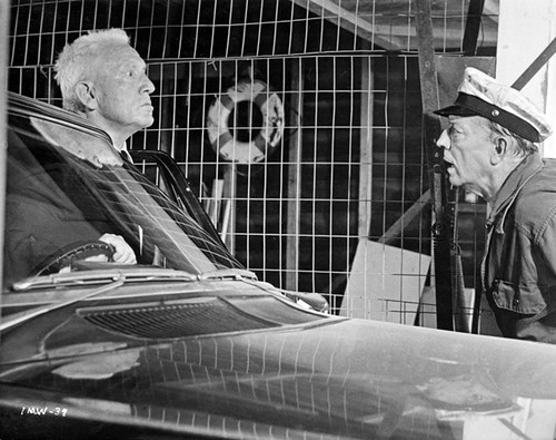 "Spencer Tracy and Buster Keaton in ""Mad World"" 