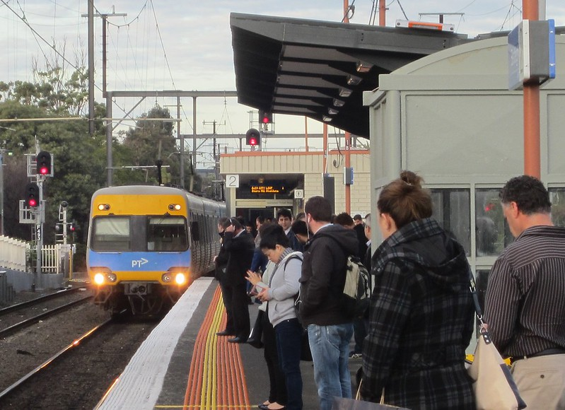 Bentleigh station, June 2015