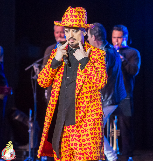 Boy George & the Culture Club at Meadowbrook Music Festival in Michigan