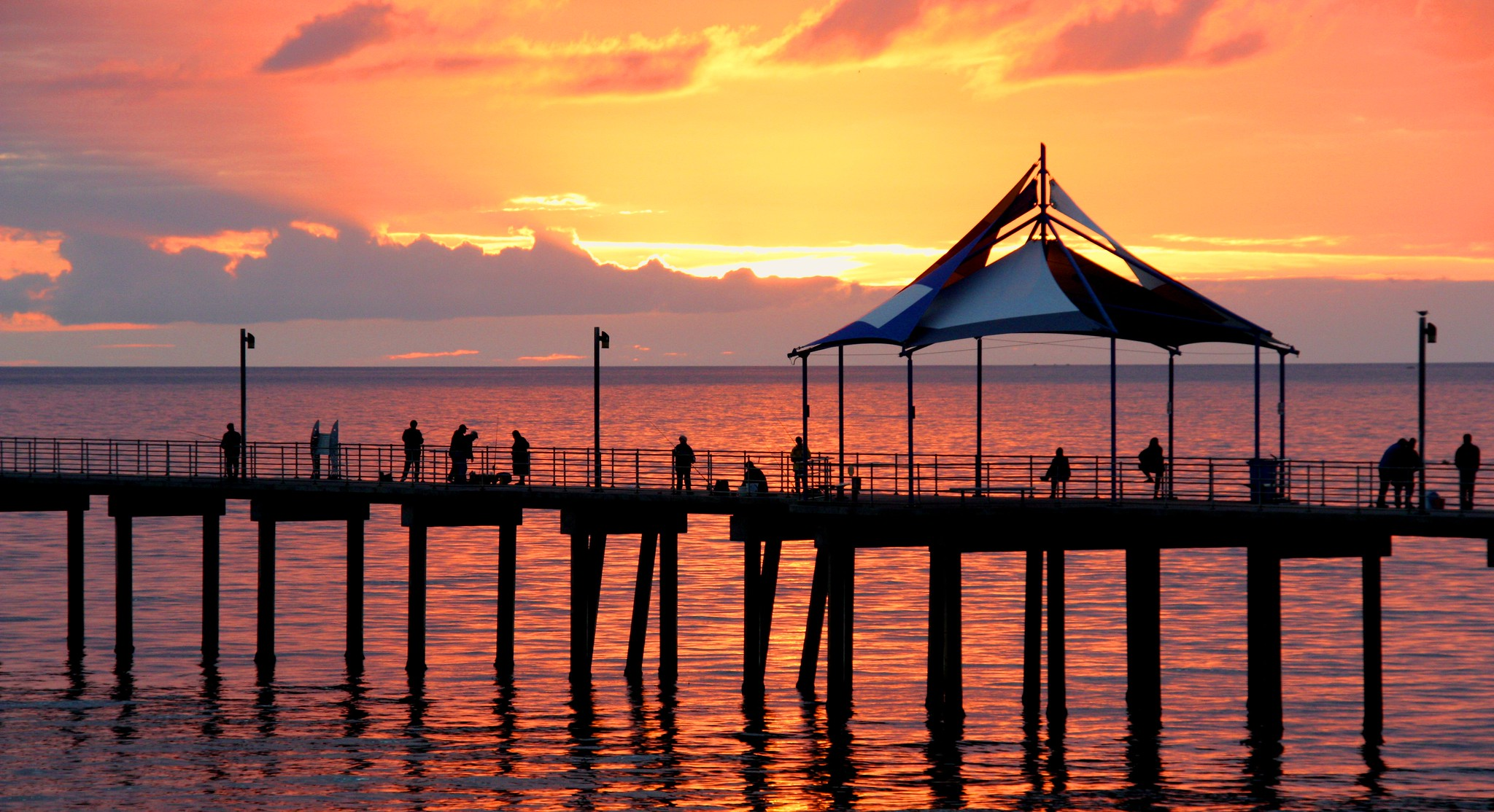 Noarlungha Pier Adelaide #dailyshoot