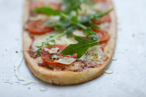 A pizzette served in the Amphitheatre Restaurant © Royal Opera House Restaurants 2012 | by Royal Opera House Covent Garden