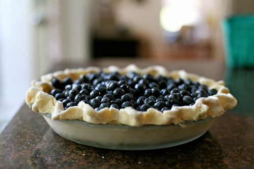Blueberry Crumb Pie | by kristin :: thekitchensink