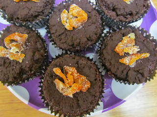Chloe's Award-Winning Chocolate Orange Cupcakes with Candied Orange Peel