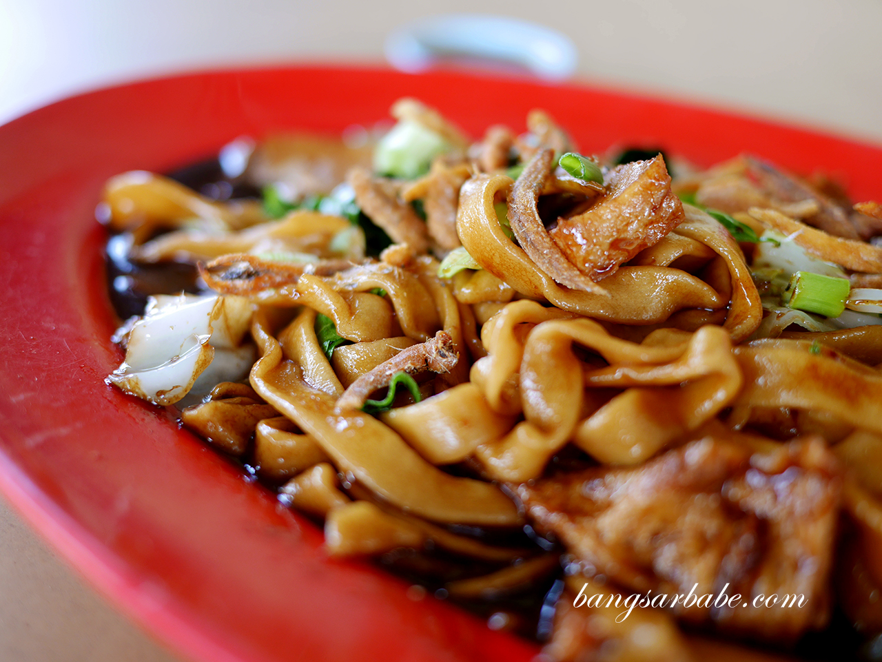 Fried Pan Mee, Lucy Stall