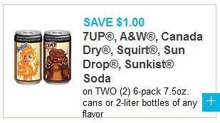 7-Up Brand Soda 2Liters