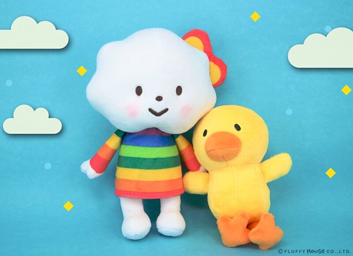 Miss Rainbow Chicky Plush