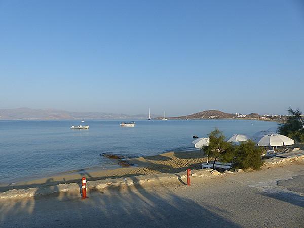 la plage le matin