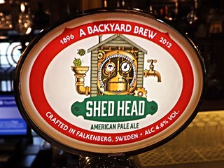 Backyard Brew, Shed Head American Pale Ale, Sweden