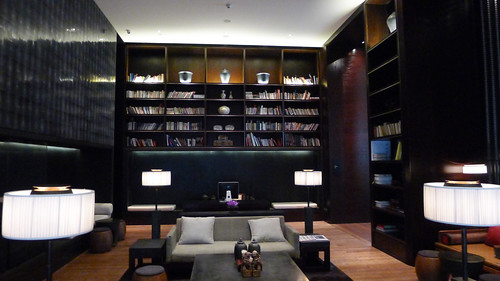 Library@The PuLi Hotel & Spa 璞麗酒店/ Shanghai | by Kenzo*