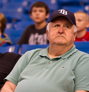 Fan at Rays Game | by Mark Schraeger