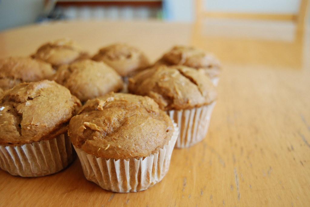 Pumpkin Spice Cake Muffins